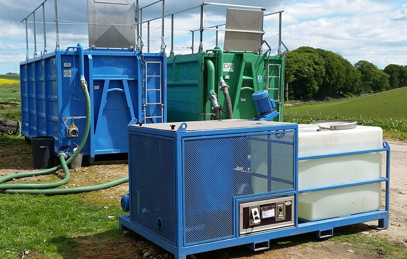Satellite Waste Water Treatment Station